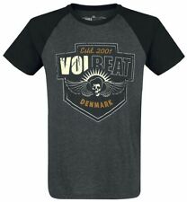 Volbeat Cross T-Shirt grigio screziato/nero