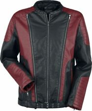 Rock Rebel by EMP Two Tone PU-Jacket Giacca nero/rosso
