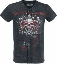 Black Premium by EMP Hades T-Shirt nero/grigio