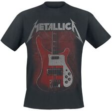 Metallica Cliff Bass T-Shirt nero