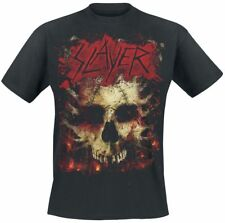 Slayer Ribs Skull T-Shirt nero
