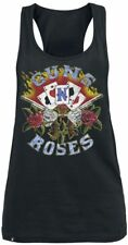 Guns N' Roses Cards Top donna nero