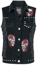 Rock Rebel by EMP Overkill Gilet donna nero