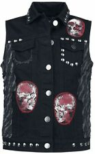 Rock Rebel by EMP Overkill Gilet nero