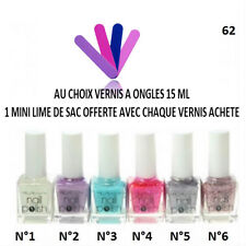 VERNIS ONGLE TRANSPARENT PAILLETTE COULEUR TOP BASE COAT MANUCURE 15 ML VER053