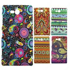 Heartly Aztec Print Tribal Matte Style Thin Hard Back Case Cover Nokia Lumia 820