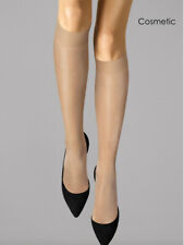 Wolford Satin Touch 20 Denier Knee Highs, Luxury Shiny Sheer Socks