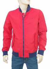 TOMMY HILFIGER Bomber rouge nylon BOMBER HIGH RISK RED taille XL DM01770