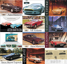 Aston Martin DB4,5,7, V8, GT, Lagonda, DBS Poster Picture Print Various Sizes