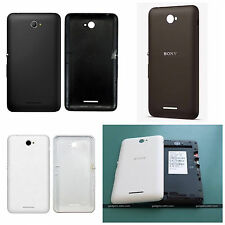Sony Xperia E4 Dual Sim-Replacement Battery Door Back Cover Case