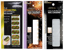 Loreal Colour Riche Nail Lingerie 3D Nail Stickers Collection Choose Your Style