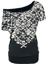 Full Volume by EMP Can You Read My Mind Maglia donna nero