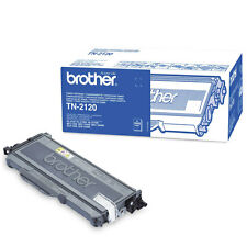 Genuino Brother tn-2120 Negro Impresora Laser Cartucho Tóner para hl/ DCP / MFC