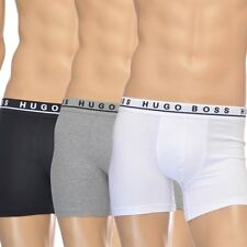 HUGO BOSS MENS BOXER SHORTS LOW RISE BRIEF 3 PACK UNDERWEAR BOXER TRUNK
