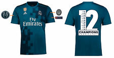 Trikot Real Madrid 2017-2018 Third UCL - CHAMPIONS 12 [164-XXL] Champions League