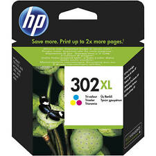 HP HEWLETT PACKARD 302XL ALTA CAPACIDAD CARTUCHO DE TINTA A COLOR F6U67AE