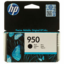 GENUINE OEM HP HEWLETT PACKARD OFFICEJET PRO BLACK INK CARTRIDGE HP950 / CN049AE