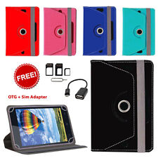 360° ROTATING FLIP COVER FOR AMAZON KINDLE FIRE HD (2013) WITH OTG & SIM ADAPTER