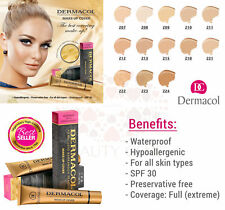 Dermacol High Makeup Cover Foundation Hypoallergenic Waterproof AUTHENTIC SPF 30