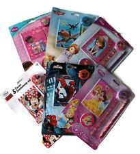 Disney Princess Minnie Mouse Sophia Stationery Set Pen Pencil Eraser School Gift