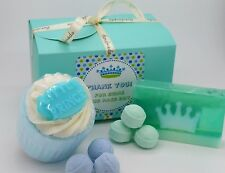 Wedding Gifts Thank You to Our Page Boy Gift Box Little Prince Bath Bomb & Soap