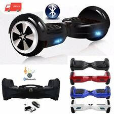 "HOVERBOARD 6.5"" LUCI LED E BLUETOOTH SPEAKER SCOOTER OVERBOARD VARI COLORI #C"