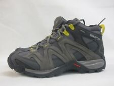 Mens Salomon Vandom Mid GTX 378317 Black Grey Walking Hiking Lace Up Boots