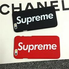 Supreme Phone Case Cover For iPhone 8/7/6 Cases Black Red Brand New UK Seller