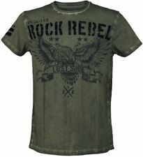 Rock Rebel by EMP Rebel Soul T-Shirt verde oliva