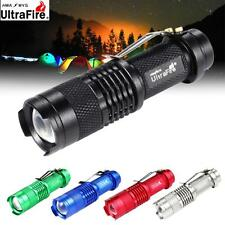 Lumineux 3500 LM Ultrafire SK68 CREE Q5 Mini LED Bike Lampe torche Penlight EH