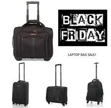 BLACK FRIDAY SALDI CABINA Laptop Trolley business Exec borsa bagaglio a mano