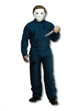 Official Halloween Movie Michael Myers Costume Boiler Suit and Mask Blood Killer