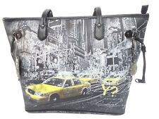 G319 NEW YORK Borsa donna Shopping media YNOT nero