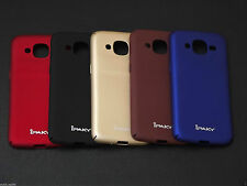4 Cut iPaky Rubberised Hard Matte Back Case Cover for Samsung Galaxy  J2 Prime