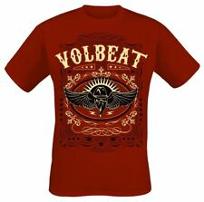 Volbeat Western Wings T-Shirt rosso