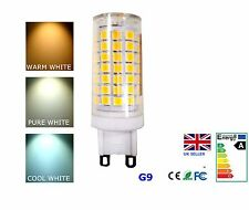 G9 7.5W LED Light Bulb Dimmable Cool Pure Warm White 220-240V AC Energy Saving