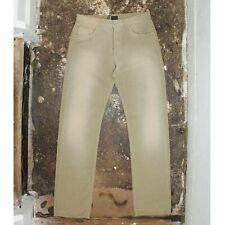 New Fendi Gold Bleached Effect Jeans With Zucca Monogram Pattern RRP £265 BNWT