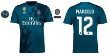 Trikot Real Madrid 2017-2018 Third UCL - Marcelo 12 [164-XXL] Champions League