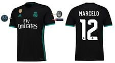 Trikot Real Madrid 2017-2018 Away UCL - Marcelo 12 [164-XXL] Champions League