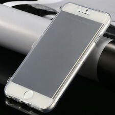 Clear Soft Transparent Silicone Gel Case Cover For Apple - FREE SCREEN PROTECTOR