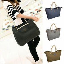 Women's Lady Canvas Tote Shoulder Bag Handbag Satchel Bag Purse Messenger 06g