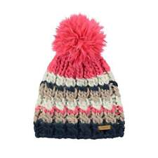 Barts Headwear Feather Beanie Lined with Pom RRP£26.99 FREE 48hr Tracked Del