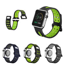 Replacement Silicone Wrist Bracelet Sport Band Strap For Apple Watch Series 3 2