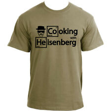 Heisenberg Cooking with Walter White Mr. White Breaking Bad inspired T-Shirt