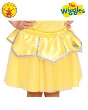 THE WIGGLES- YELLOW EMMA WIGGLE Ballet Costume Tutu Skirt Size 3-5 /1-3 LICENSED