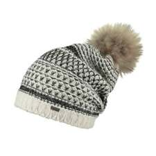 Barts Headwear Aurora Beanie Slouch Fur Pom RRP£34.99 FREE 48hr Tracked Delivery