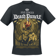 Five Finger Death Punch War Is The Answer T-Shirt nero