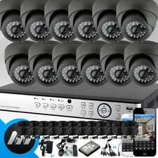 12 Infrared Night Vision Colour CCTV Camera & 16 Channel DVR office Mobile Acc