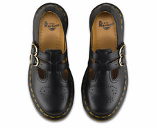 Dr Martens 8065 Mary Jane Black Leather twin bar  Shoes RRP £115 (12916001)