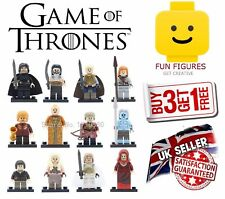 Game Of Thrones Minifigures GOT Minifigure Drogo Jon Snow Stark Mini Figure